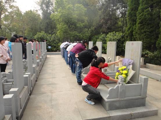 (原创)扫墓感怀: - liangshange - 一线天